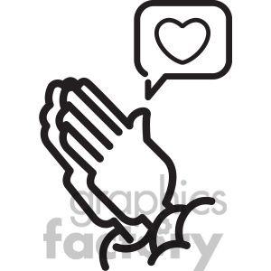 300x300 The Best Praying Hands Clipart Ideas Praying