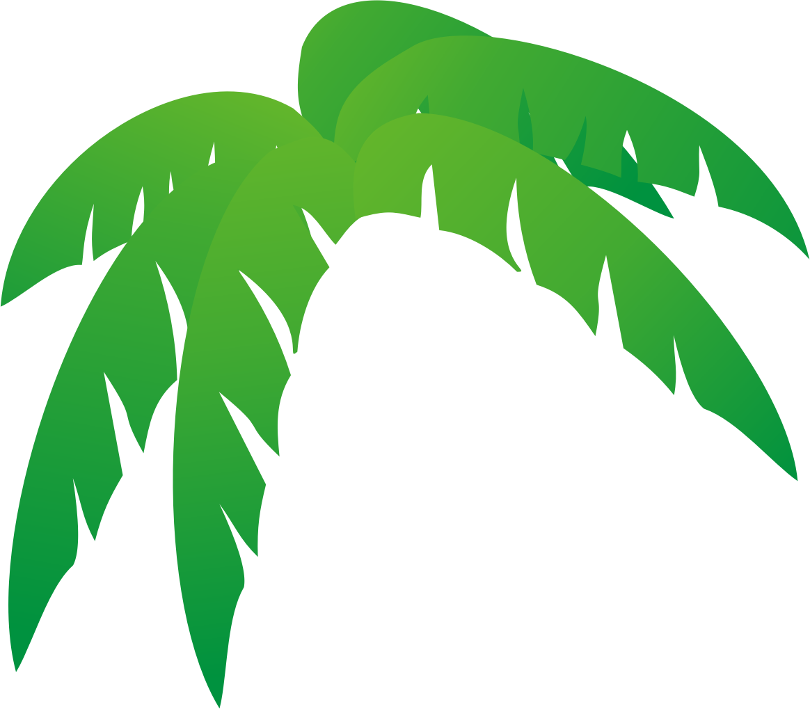 1164x1019 Palm Tree Leaves Clipart