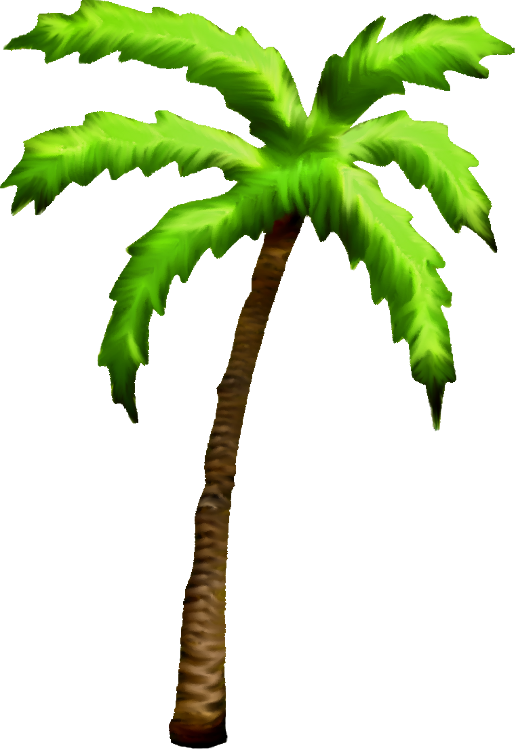 516x750 Palm Tree Clipart Tall Tree