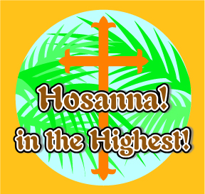 288x273 Holiday Bible Games Hosanna in the Highest!