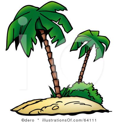 400x420 Eiland Clipart Palm Tree Beach