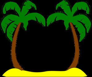 298x249 Sophies Palm Trees Clip Art