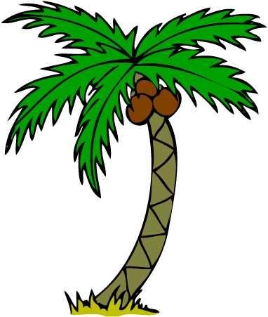 382x451 Top 10 Free Palm Tree Clip Art