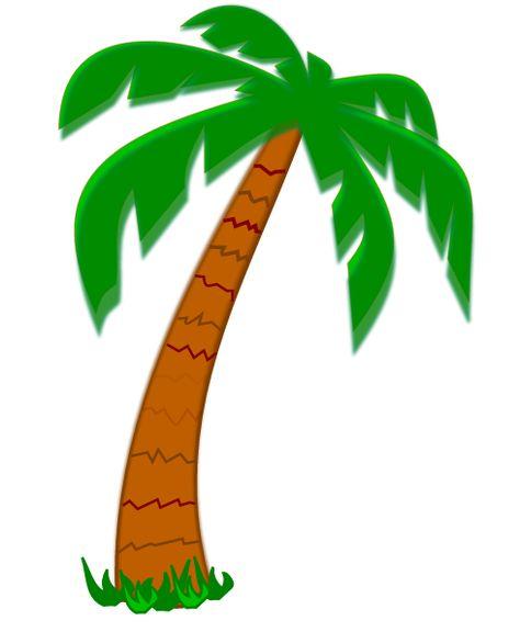 474x576 Palm Tree Clip Art