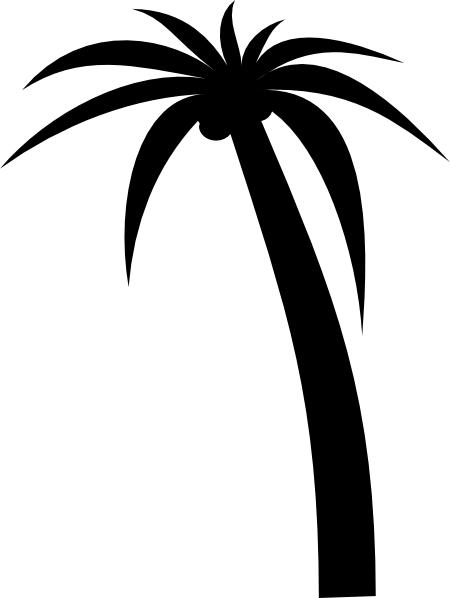 450x598 Palm Tree Clip Art Free Vector 4vector