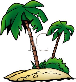 323x350 Palm Tree Clip Art Clipart Image