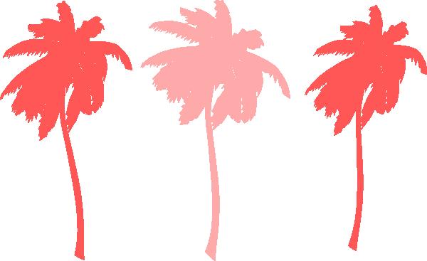 600x367 Vector Palm Trees Clip Art