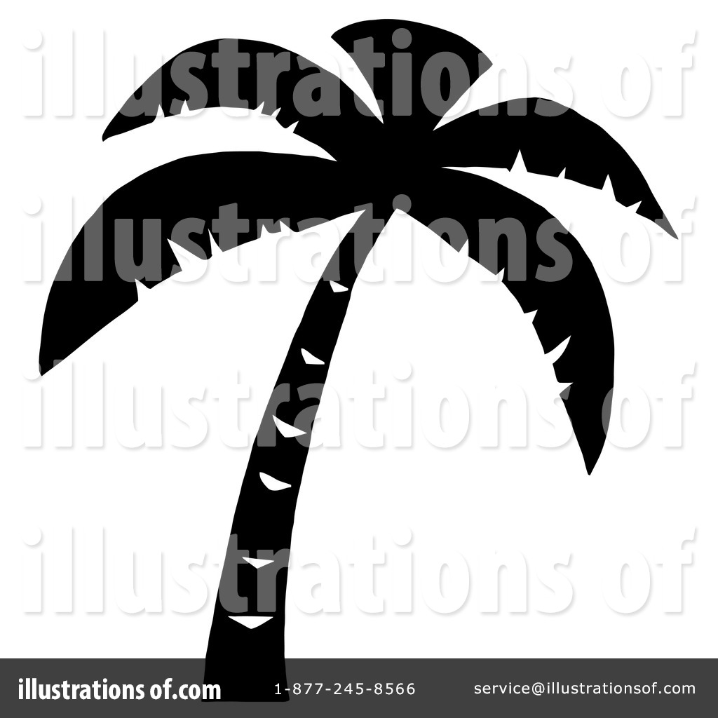 1024x1024 Palm Tree Clipart