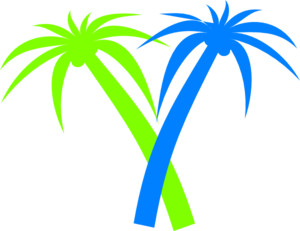 300x231 Palm Tree PNG, SVG Clip art for Web