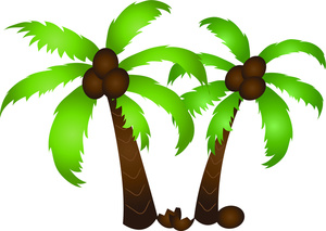 300x213 Palm tree clip art free clipart images 2