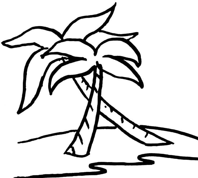 750x672 Tree clipart white palm