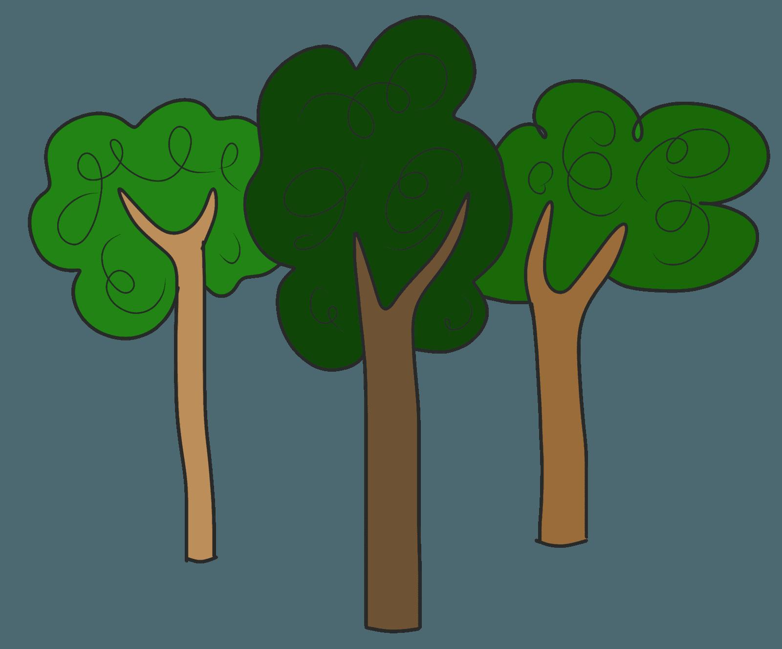 1600x1327 Clip Art Trees