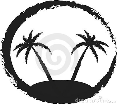 400x357 Island Black And White Clip Art (28+)