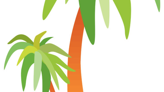 570x320 Simple Drawing Of A Palm Tree Simple Black White Line Drawing