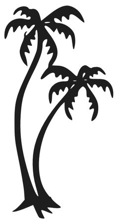 236x448 palm tree vector Palm Tree Vector In Ai Format Silhouettes
