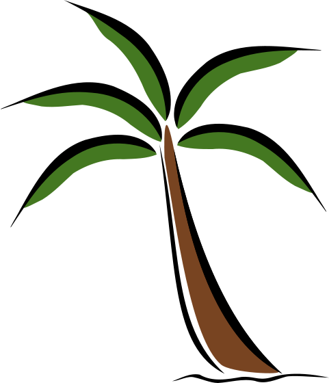 Palm Tree Clipart Free