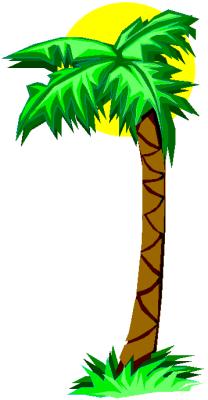 208x400 Free Palm Tree Clip Art Clipart Panda