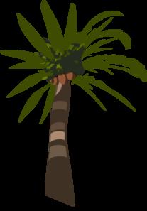 207x297 Palm Tree Vector Clip Art