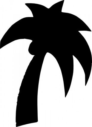 308x425 Palm tree art tropical palm trees clip art go back images for 4