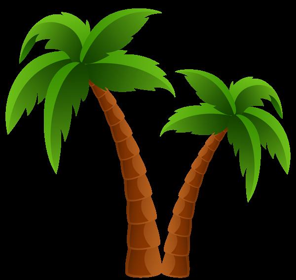 600x566 Palm Tree Clipart Transparent Background