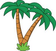 195x177 Palm Trees Clip Art