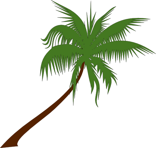512x485 Palm Tree Clip Art Printable Free Clipart Images