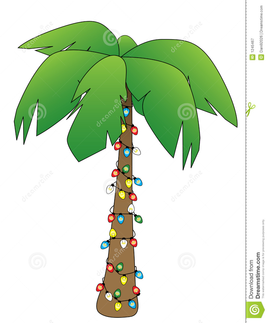 1078x1300 Christmas Palm Tree Clipart