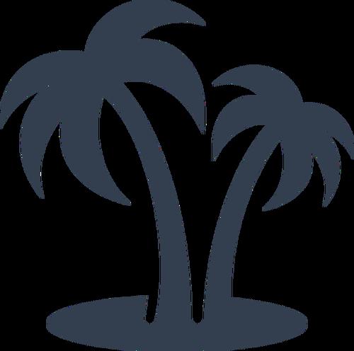 Palm Tree Leaves Clip Art