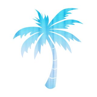 320x320 Large Single Palm Tree Icon