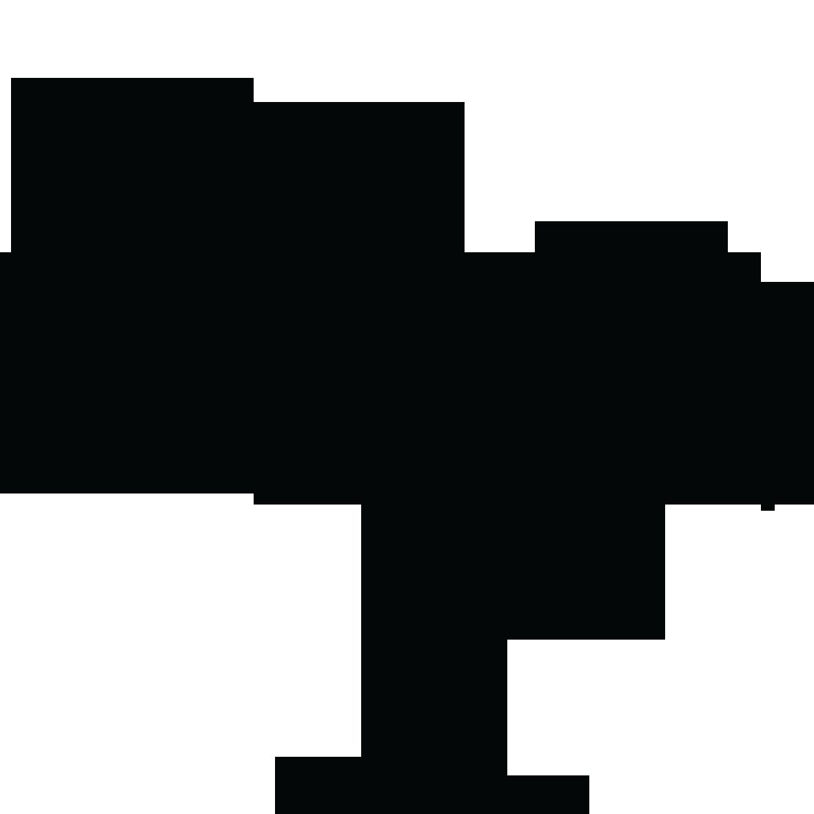 1181x1181 Black Palm Tree Clip Art