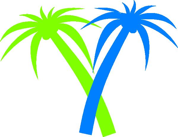 600x462 Cartoon Palm Tree Clipart Transparent
