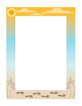 Palm Tree Picture Frames