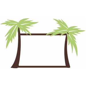 300x300 Palm Tree Framed Pictures Gallery. Coconut Palm Tree Vector