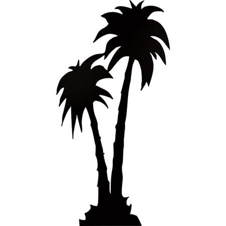 450x450 Palm Tree Silhouette Theme Kit Prom 2k17 Palm Tree