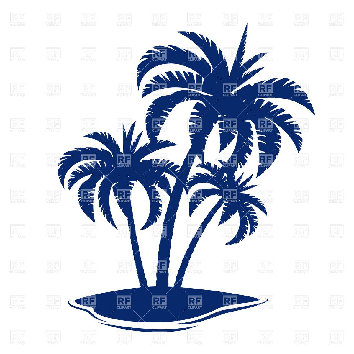 1200x1200 Coconut Tree Silhouette Clipart