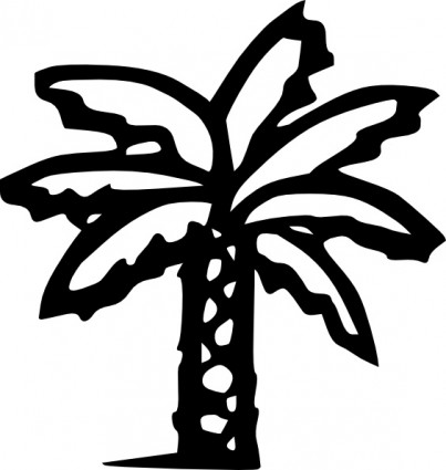 403x425 Palm Tree Art Tropical Palm Trees Clip Art Clip Art Palm Tree 7