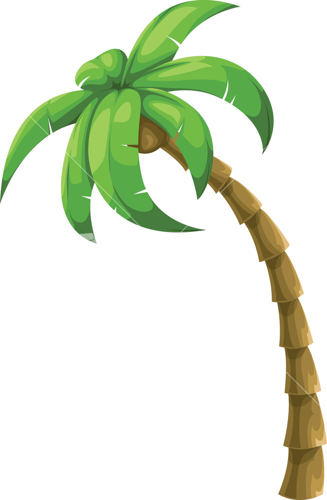Palm Tree Vector Clipart | Free download on ClipArtMag