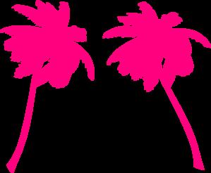 299x246 Sophies Palm Trees Clip Art
