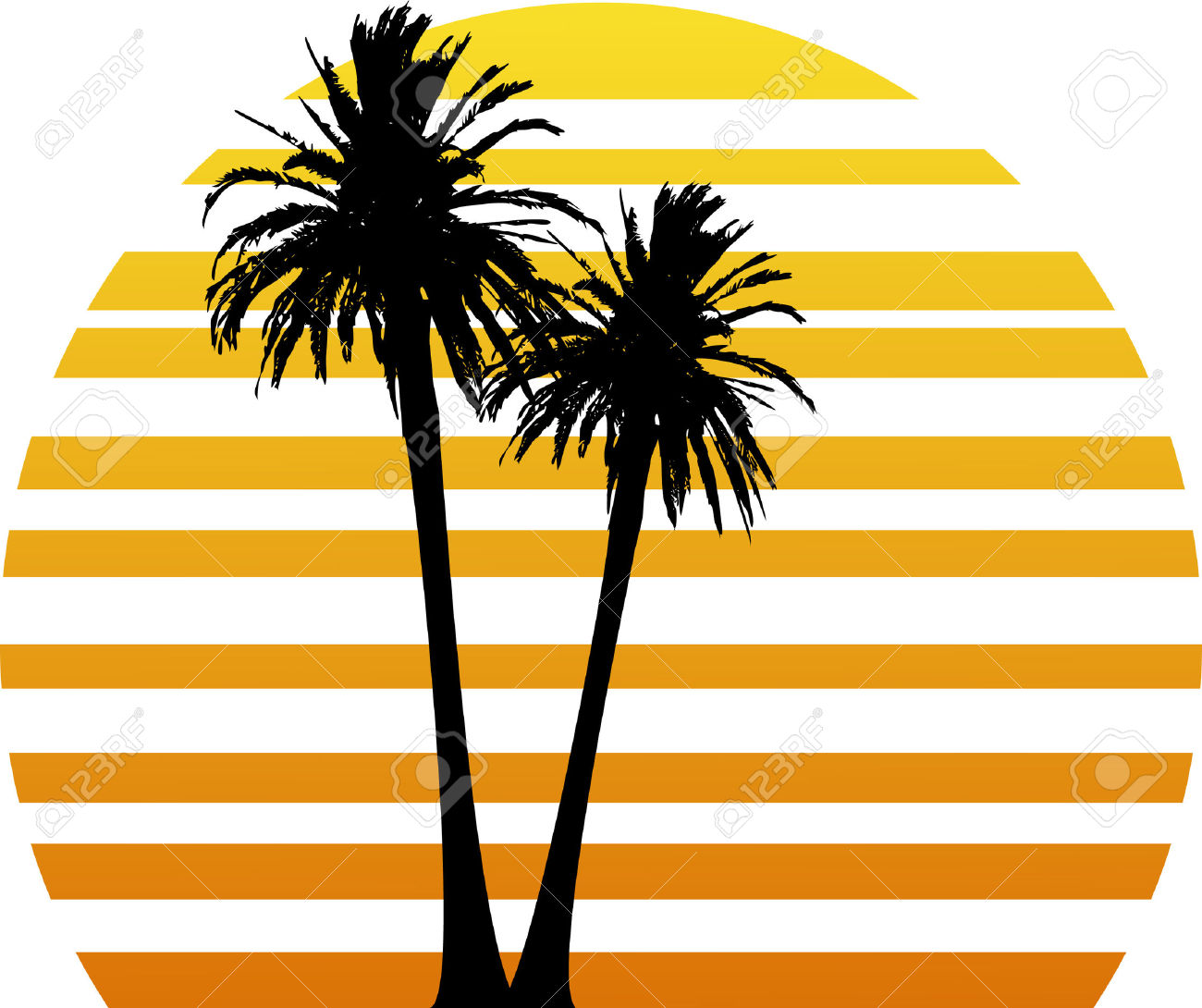1300x1090 Sunset Palm Tree Clipart, Explore Pictures