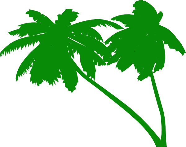 600x475 Vector Palm Trees Clip Art