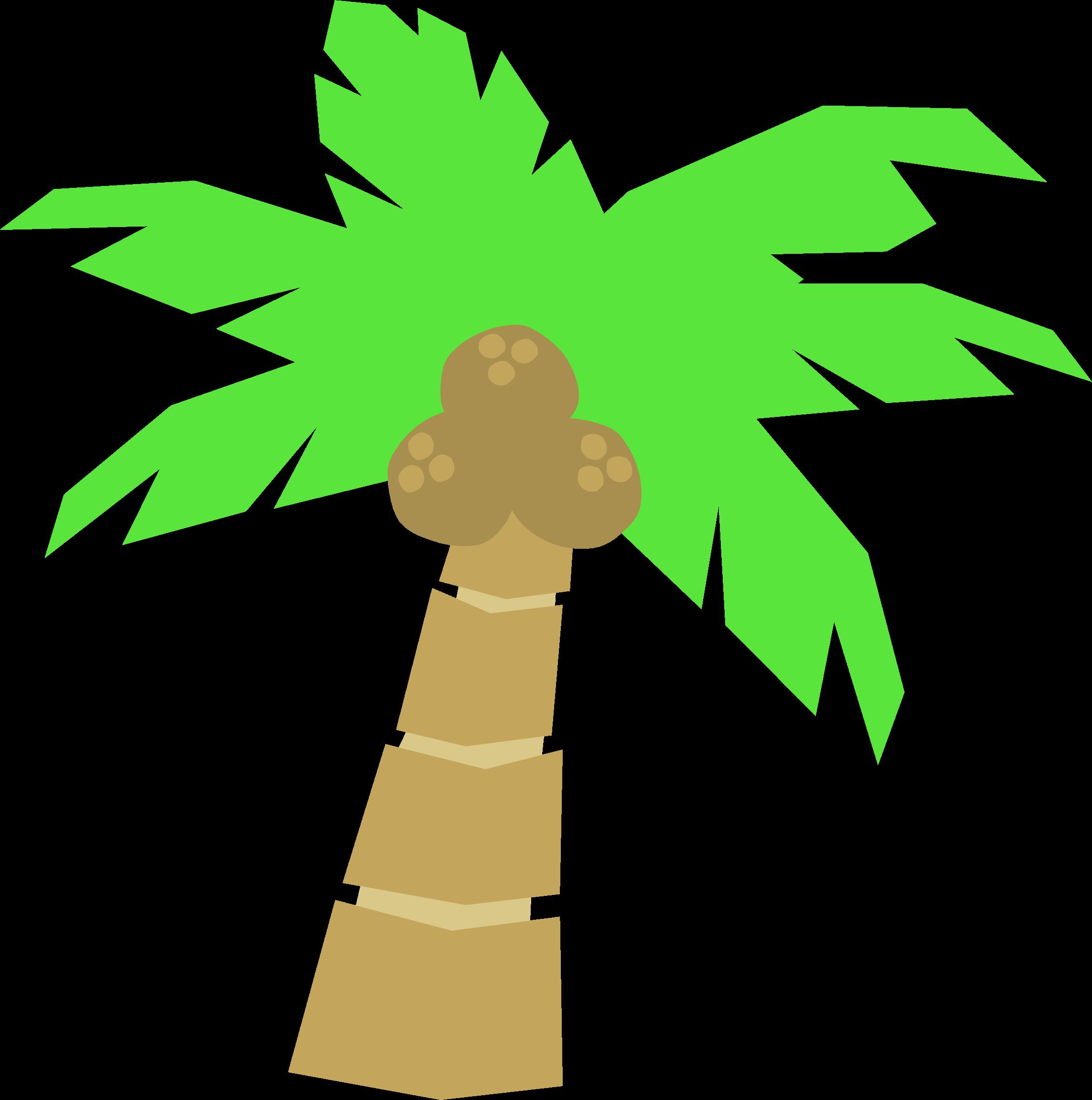 2286x2301 Vector Palm Trees Clip Art