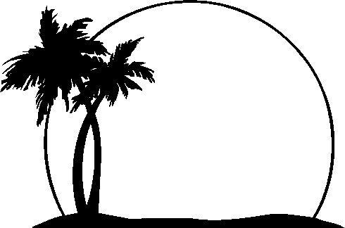 490x324 Palm Tree Clip Art