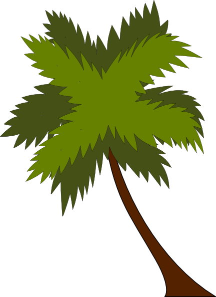 432x593 Coconut Tree Clip Art