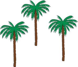 298x258 Palm Trees Clip Art