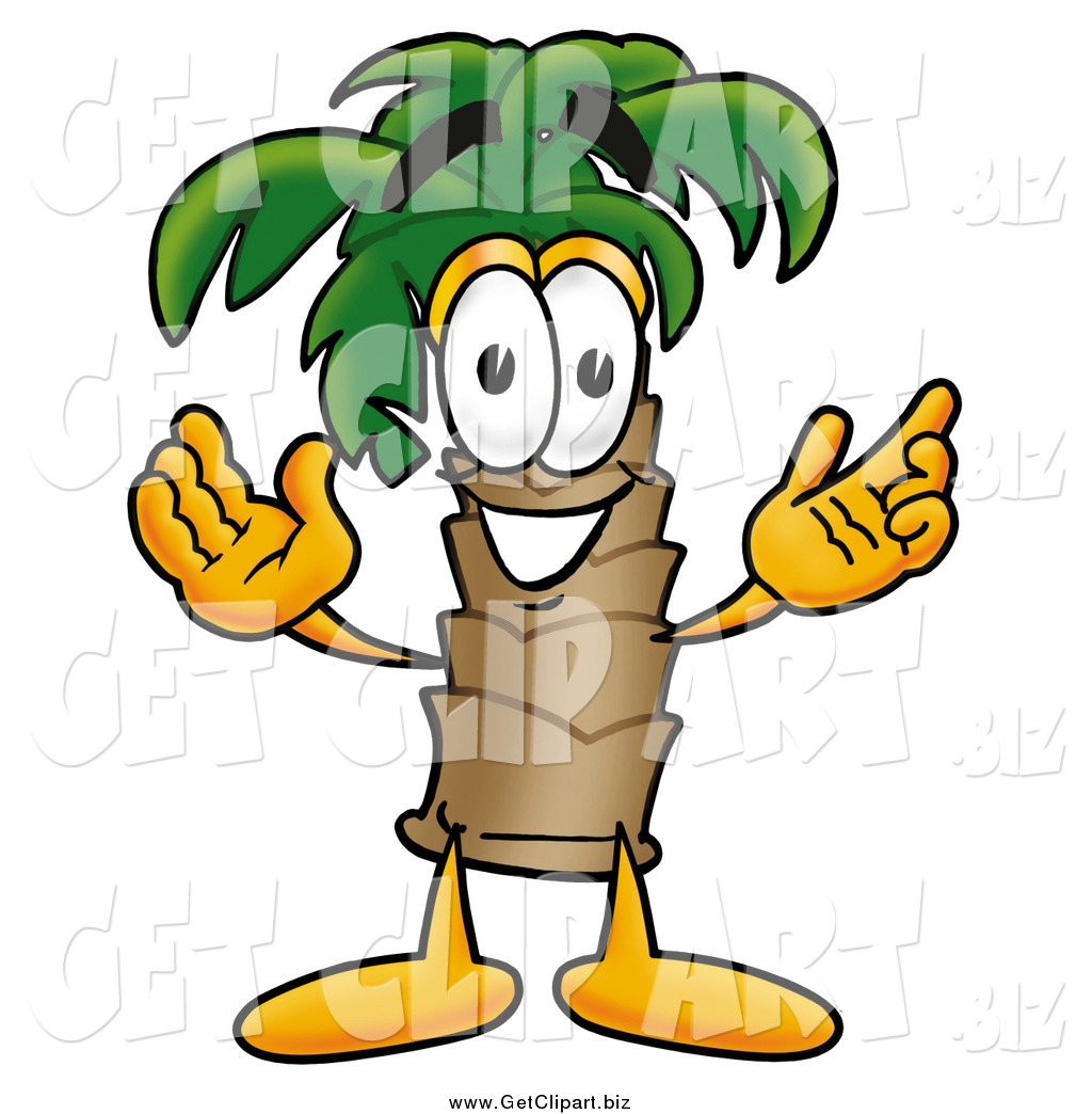 1024x1044 Clip Art Of A Palm Tree Guy By Toons4biz
