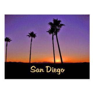 324x324 Palm Tree Silhouette Postcards Zazzle