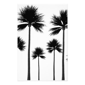 324x324 Palm Tree Stationery Templates, Palm Tree Custom Stationery Templates