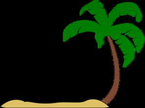 297x222 Beach Palm Tree Clip Art Clip Art