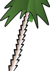198x280 Coconut Palm Clip Art Vector Clip Art Free Vector Free Download