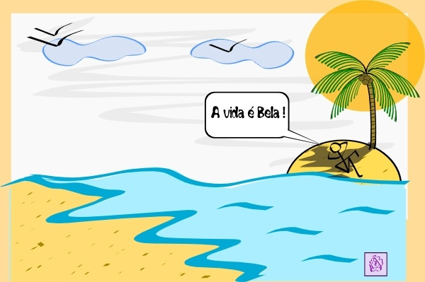 600x399 Island Palm Tree Water Clip Art Free Vector In Open Office Drawing